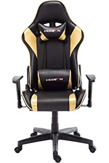 Amazon.com: Morfan Game Chair Massage and Rocking Swivel Ergonomic ...