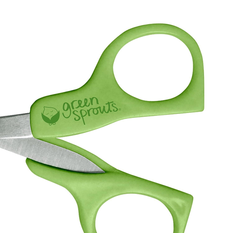 Green Sprouts - Tijeras para uñas de bebé (talla única, verde ...