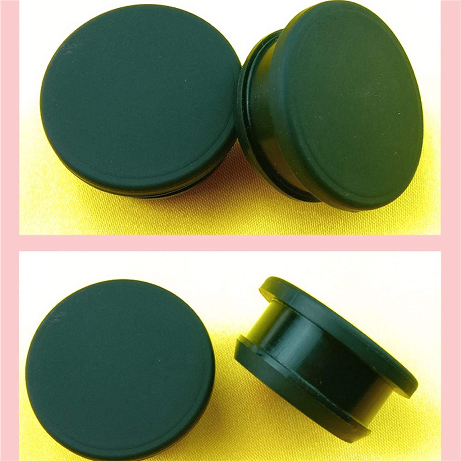 10pcs Color : Black, Size : A 7mm XIARUI Gasket 2.5-30mm Silicone Seal End Caps Round Rubber Gasket Stopper for Alloy Plate Heat Resistance Water Sink Hole Plug Seal Gasket Durable in use.