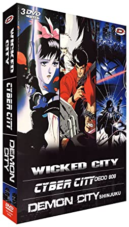 Kawajiri Box : Wicked City + Cyber City Oedo 808 + Demon ...