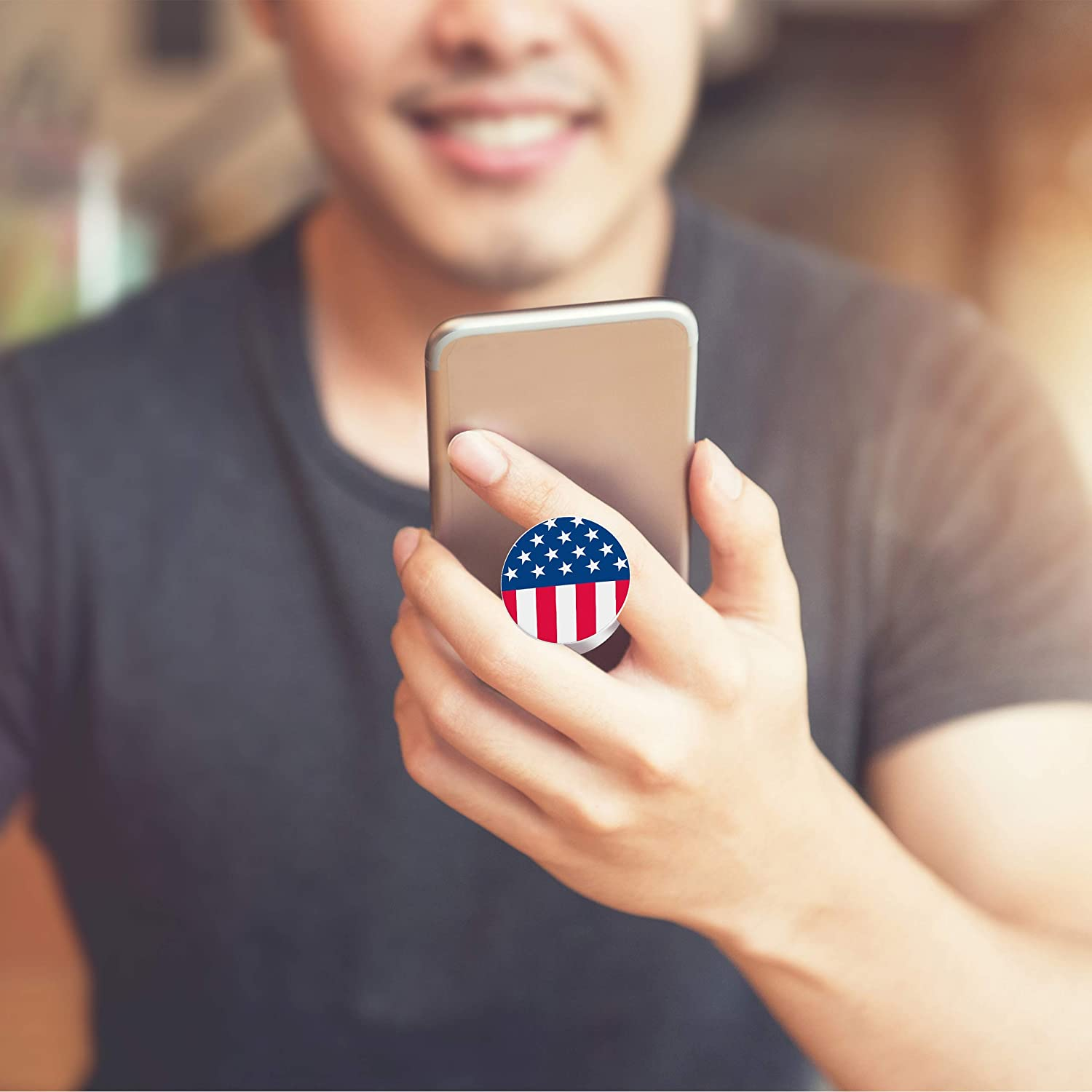 Cool and Fun USA Pack. blugoat designs 2 Pack PopSocket Stickers to Customize Your Pop Grip Affordable Way to Change The Design on Your PopSocket