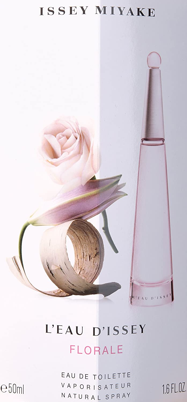 Issey Miyake L eau D issey Florale Eau De Toilette Spray, 1.6 Ounce