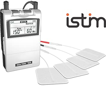 TENS Unit iStim EV-820 TENS Machine for Pain Management, Back Pain and  Rehabilitation