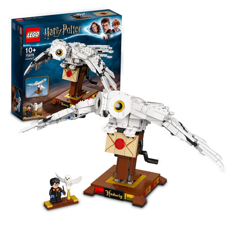 LEGO75979HarryPotterHedwigtheOwlFigureCollectibleDisplayModelwithMovingWings