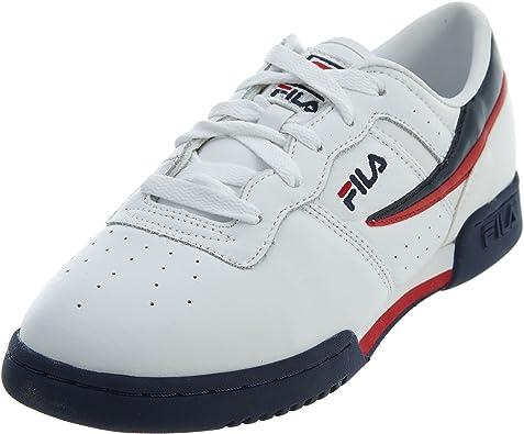 Fila Zapatillas de Moda para niños 12 Blanco: Amazon.es: Zapatos y complementos