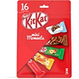 Nestle Kitkat Mini Moments 16 Pcs, 272.5g (Milk Chocolate, Caramel, Hazelnut, Mocha)