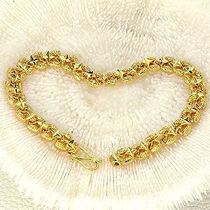 Women sphere gold plated bracelet(KS342)