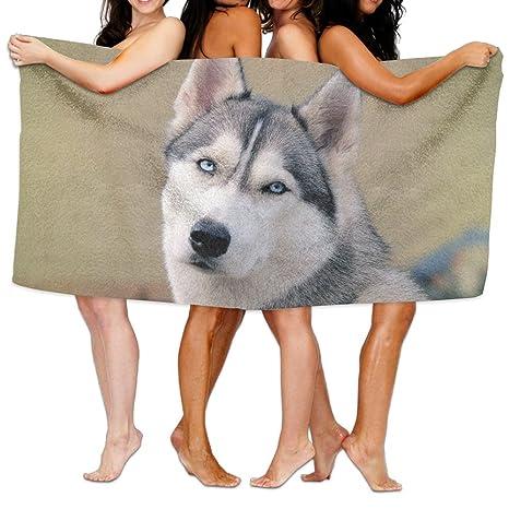 Toallas de baño, Super suave de perro gracioso Ultra absorbente toalla de baño para hombres