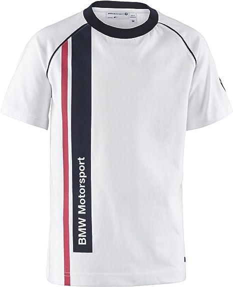 BMW Motorsport Motosport Camiseta, Niño, Blanco, XXXS (2 años): Amazon.es: Zapatos y complementos