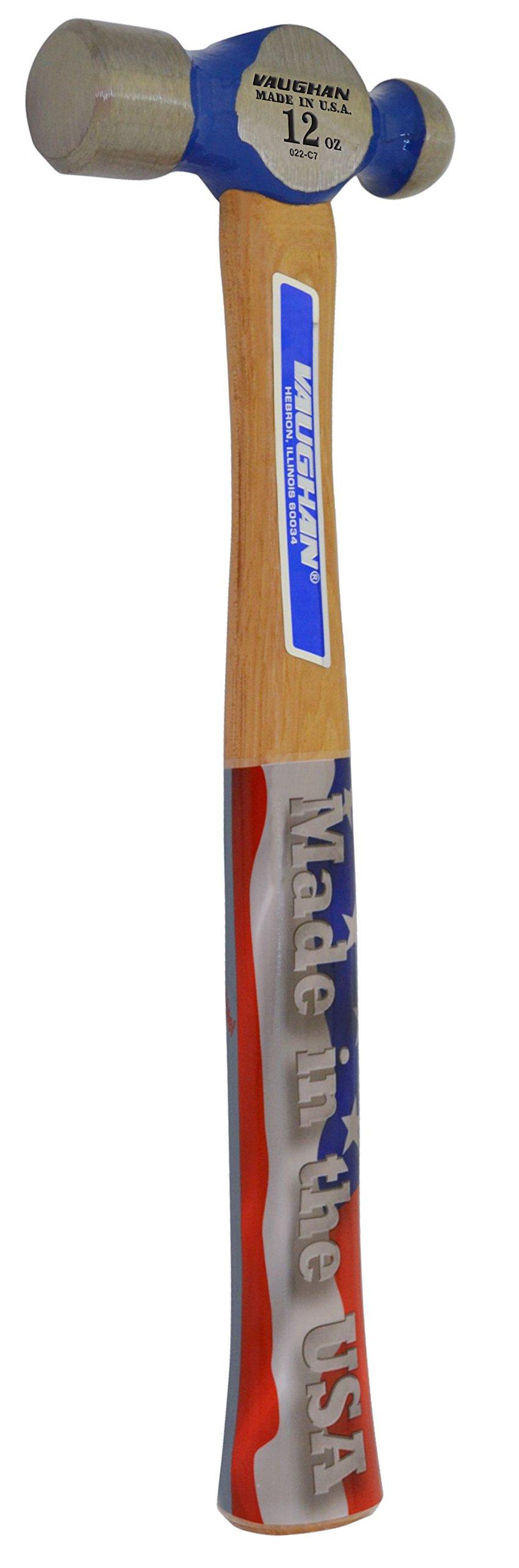 Vaughan TC2012 12-Ounce Commercial Ball Pein Hammer