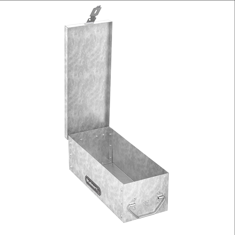 """Stalwart 75-500 Lock Box, 12"""", Silver"""