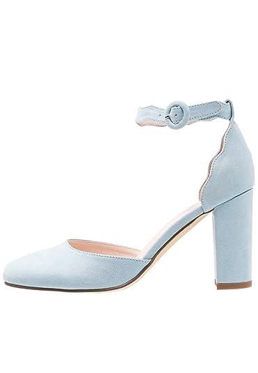 7e8b8ed37039e7 Anna Field Damenpumps mit Slingback - Blockabsatz Schuhe - Mid Heels in  Hellblau