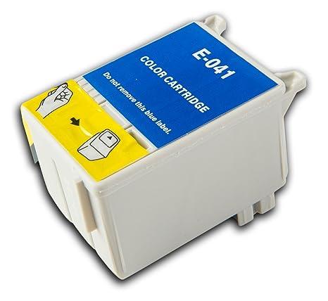 1 Cartucho de Tinta Color Compatible con Epson Stylus T041 ...