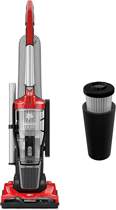 Dirt Devil Endura Reach Bagless Upright Vacuum Cleaner with Dirt Devil Endura Filter, Odor Trapping Replacement Filter