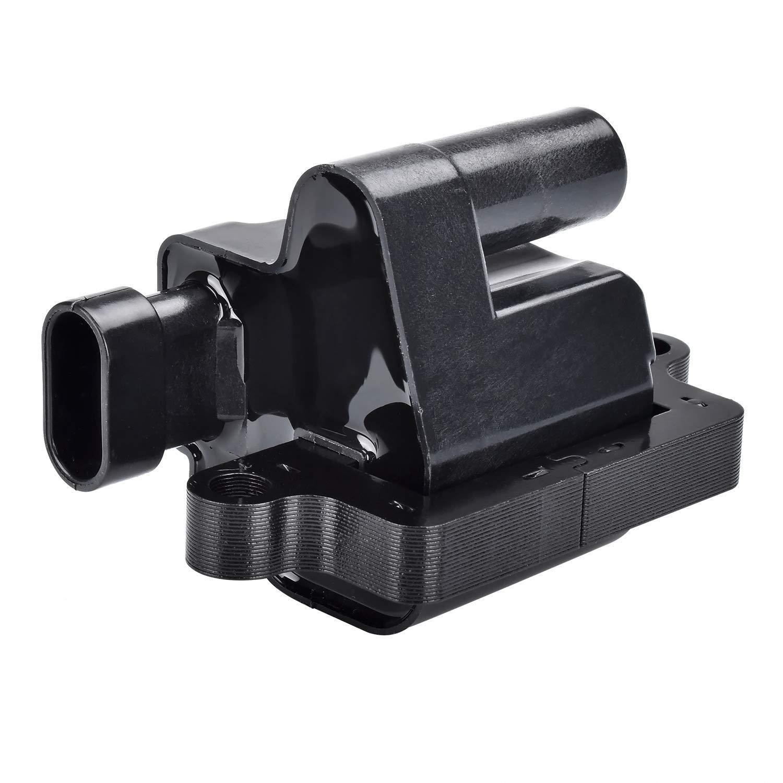 12558693 5.3L 8.1L FAERSI Ignition Coil for Cadillac Chevy Silverado Suburban GMC Hummer Isuzu Workhorse 6.0L C1208 Square Type Engine 4.8L D581 6.6L