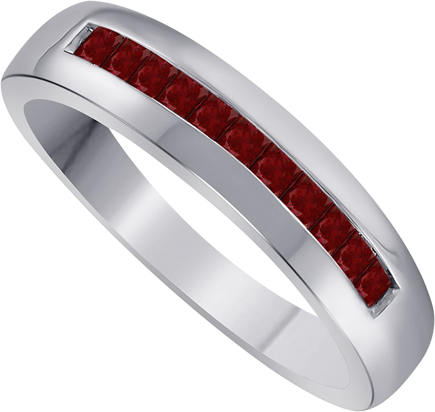 Ring 925 Silver Ruby 0.50 ct