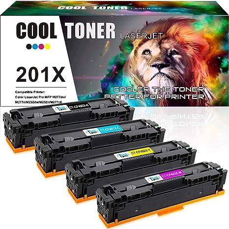CF403X Toner Cartridge For HP 201X LaserJet Pro M252dw M252 M277 M277dw CF400X