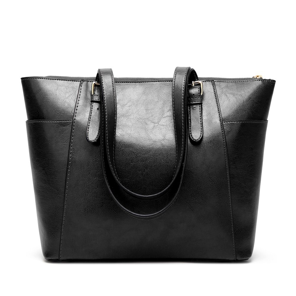 Women Handbags Leather Satchel Purse Shoulder Bags with Zipper for Ladies
