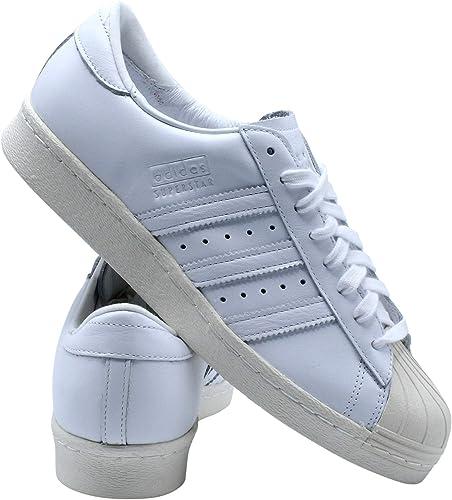 adidas Originals Mens Superstar 80S Recon Casual Sneakers,