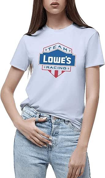 Amazon.com: PZX1586 Lowe's-Racing-Logo- Women Crazy Short