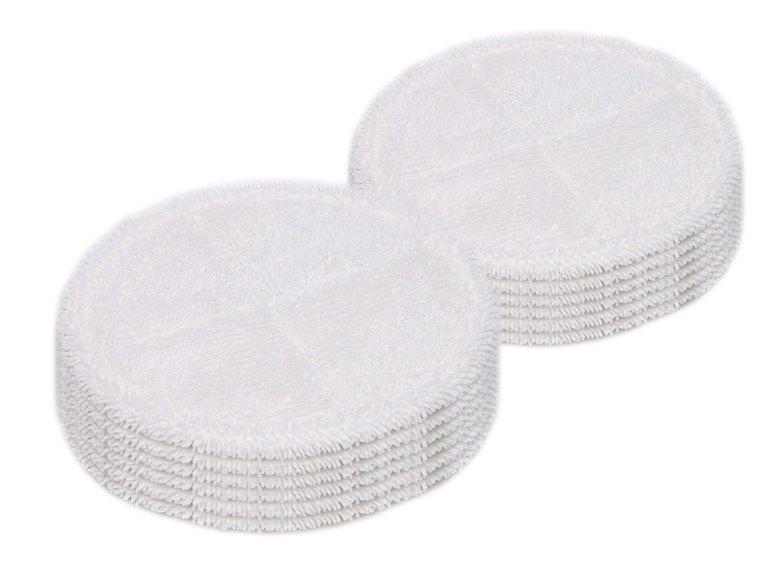 LTWHOME 7.8 Inch Soft Mop Pads Fit for Bissell Spinwave 2039 Series 2039A 2124 (Pack of 12)