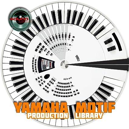 Amazon com: YAMAHA MOTIF - THE very Best of - 4 3GB HUGE