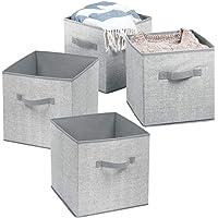 mDesign Caja de Almacenamiento - Cubo de Almacenamiento