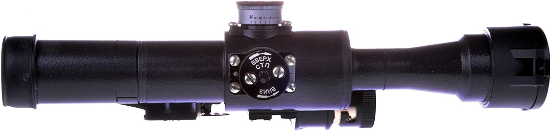 Belomo Posp 4x24 M Optical Rifle Scope Russian Side Mount 1000m Rangefinder 1 Moa Combloc Sports Outdoors Amazon Com