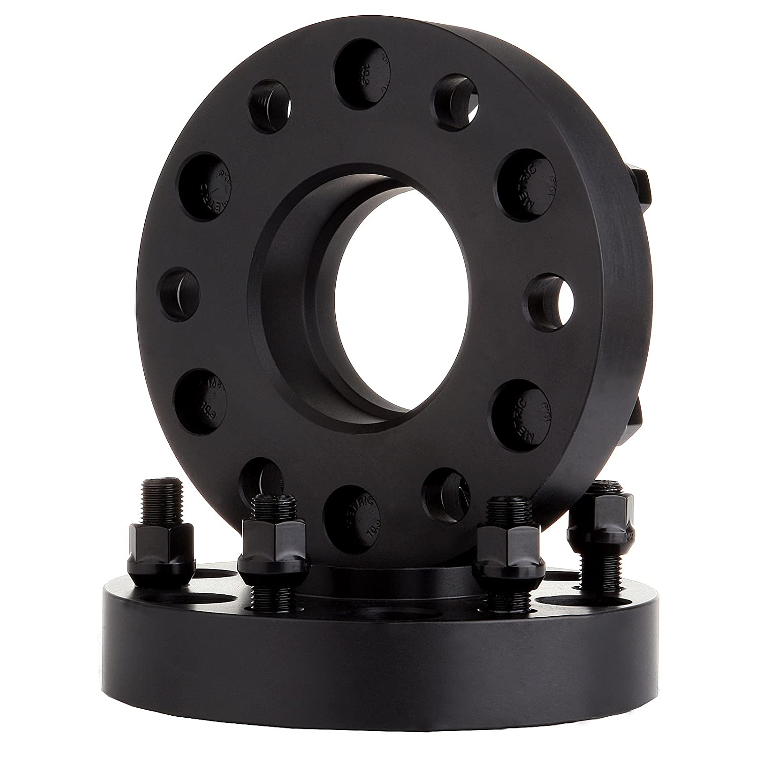 SCITOO Compatible with 4Pcs 1.25 32mm thick 6x5.5 6x139.7mm 6lugs 14x1.5 studs wheel spacers fit 1992-2016 GMC Yukon