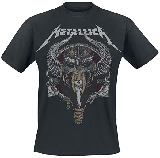 Metallica Viking T-Shirt schwarz