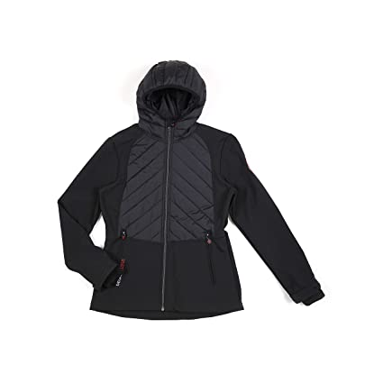 Degré Celsius - Chaqueta Softshell Mujer - Ander-Negro-M ...