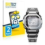 BROTECT Protector Pantalla Compatible con Casio G-Shock GMW-B5000D-1ER Protector Transparente (2 Unidades) Anti-Huellas