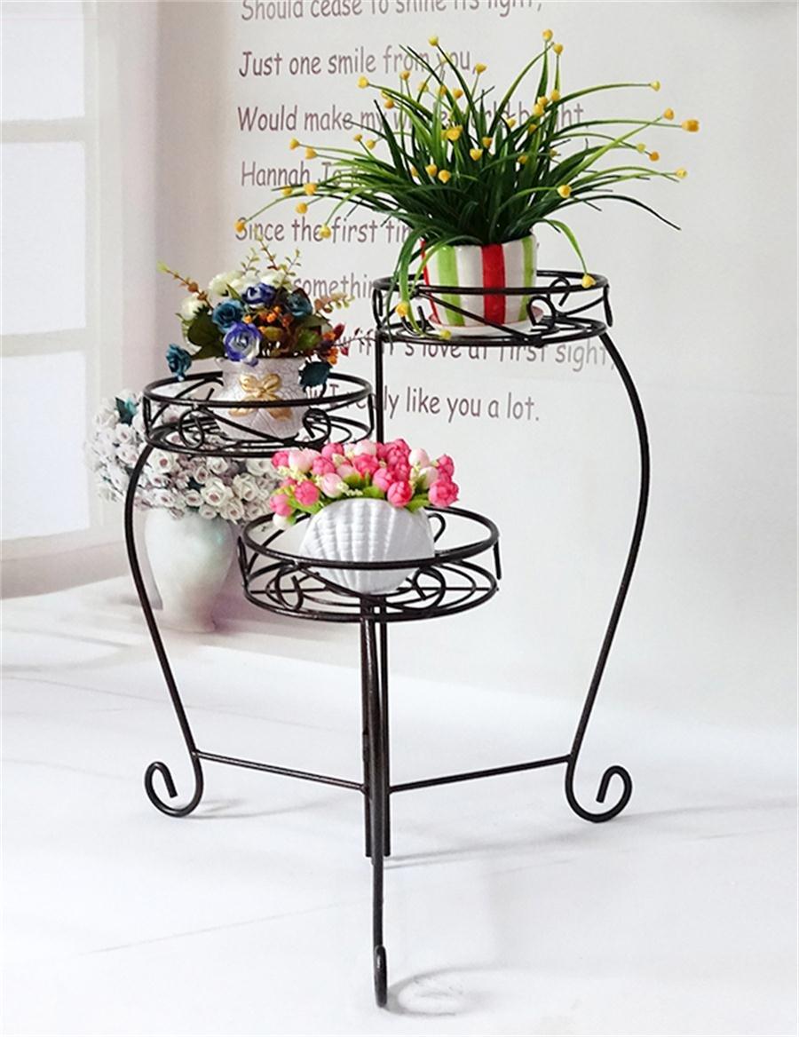 Europäische - Stil Eisen Wohnzimmer Blumenhalter Multi - Layer Solid ...
