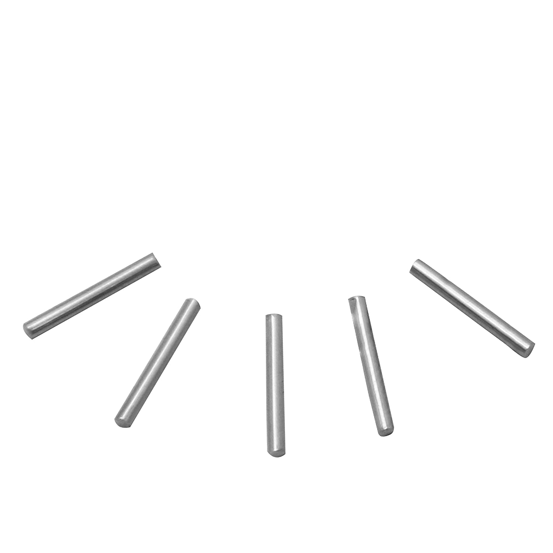 BAOSHISHAN Stainless Steel Tumbling Media Pins 1kg//2.2lb Polishing Pins for Magnetic Tumbler Polisher 0.6 x 5mm