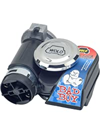 Wolo Model 419 Bad Boy Black One Piece Design Air Horn Kit - 12 Volt