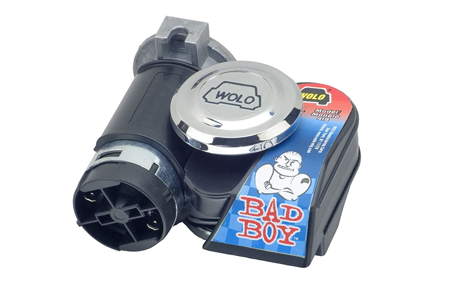 Wolo (419 Bad Boy Air Horn - 12 Volt