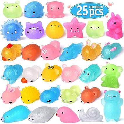Amazon.com: FLY2SKY 25 piezas Mochi Squishy Juguetes de 2ª ...
