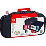 Officially Licensed Nintendo Switch Carrying Case – Protective Deluxe Travel Case – Black Ballistic Nylon Exterior