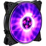 MasterFan Pro 120 Air Flow RGB- 120mm High Air Flow Fan, Jet-Inspired Fan Blade for Computer Cases, CPU Coolers, and Radiators