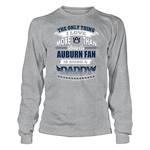c8778c689 Amazon.com : FanPrint Auburn Tigers T-Shirt - Only Thing I Love More Being  A Daddy : Clothing