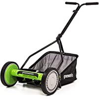Greenworks RM1400 Lawn Mower, 14-Inch, Green