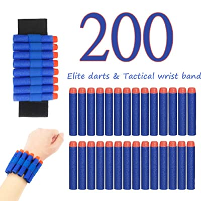 Official Dart for Nerf N-Elite Series Guns Darts Gun Refill Bullets Ammo Packs: Toys & Games [5Bkhe1105249]
