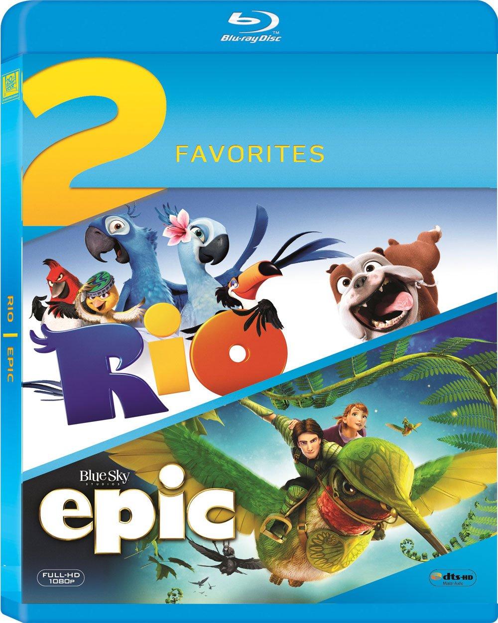Amazonin Buy 2 Animation Movies Collection Rio Epic Dvd Blu
