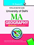 University of Delhi: M.A. (Geography) Entrance Exam Guide