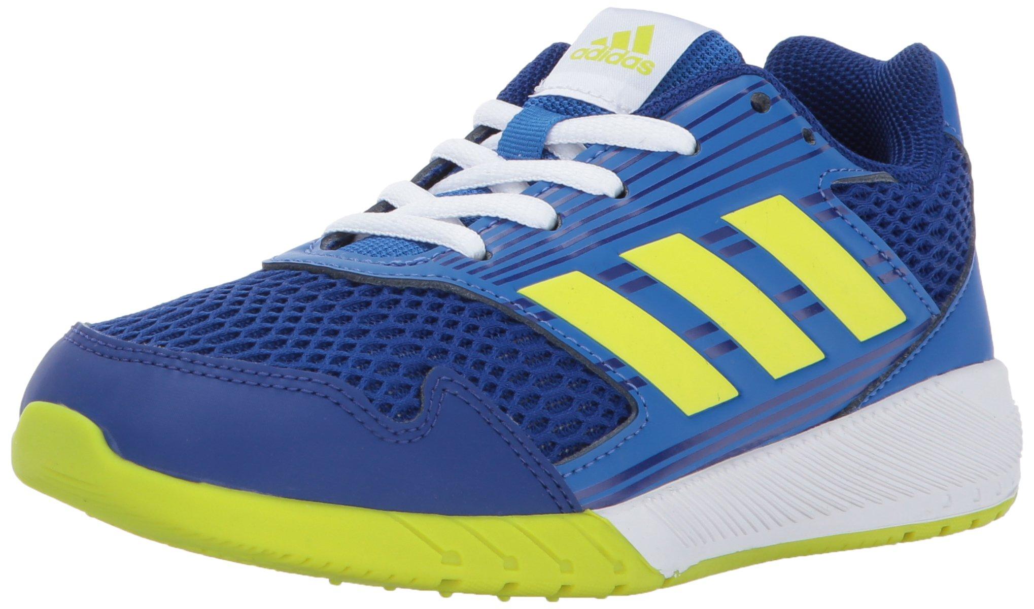adidas Performance Boys' Altarun K Running-Shoes, Mystery Ink/Semi Solar Yellow/Blue, 4.5 Medium US Little Kid