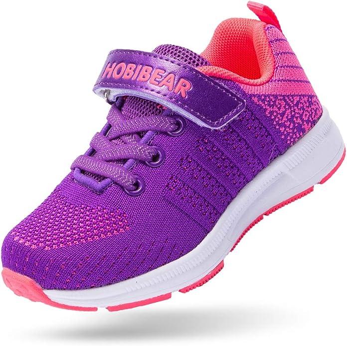 Blue Lightweight Running Shoes Kids BEEDPAN Sneakers for Boys and Girls Tennis Walking Shoe