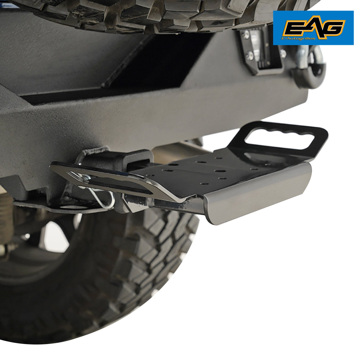 EAG 2' Universal Receiver Carrier Mount with Handle E-Autogrilles
