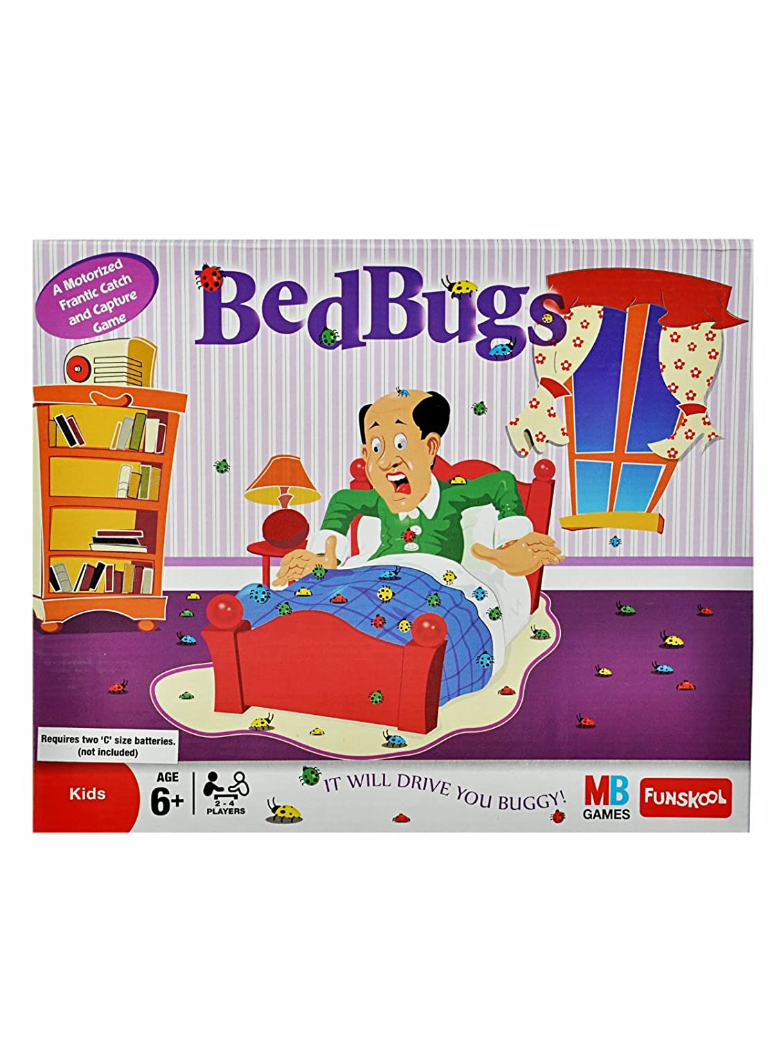 Amazon Com Funskool Bed Bugs Toys Games