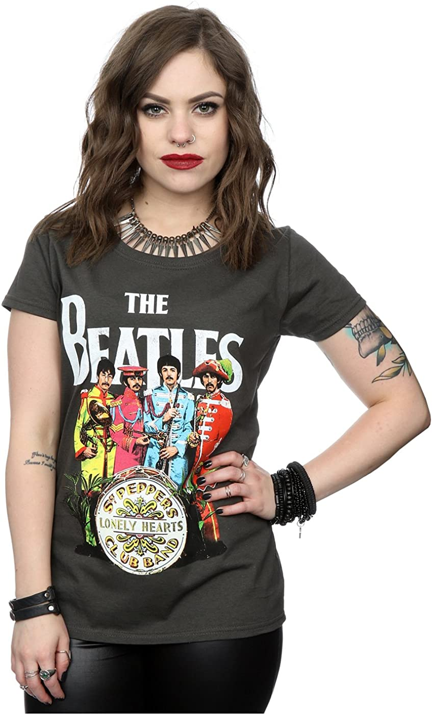 The Beatles Mujer SGT Pepper Camiseta