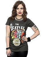 Générique Beatles Femme Sgt Pepper T-Shirt